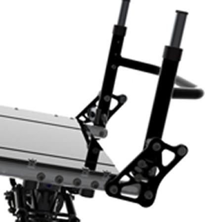Shock blade lightweight manual wheelchair