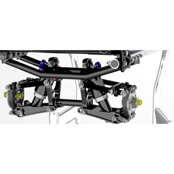 Shock blade lightweight wheelchair