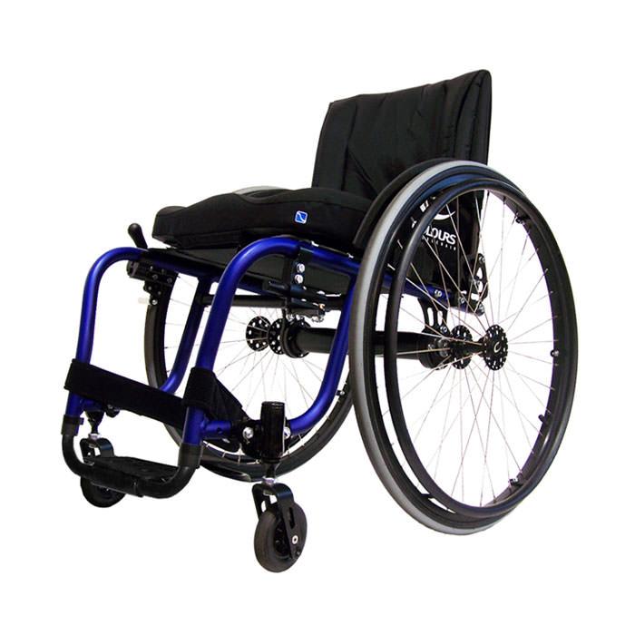 Colours Spazz-G ultralight rigid manual wheelchair