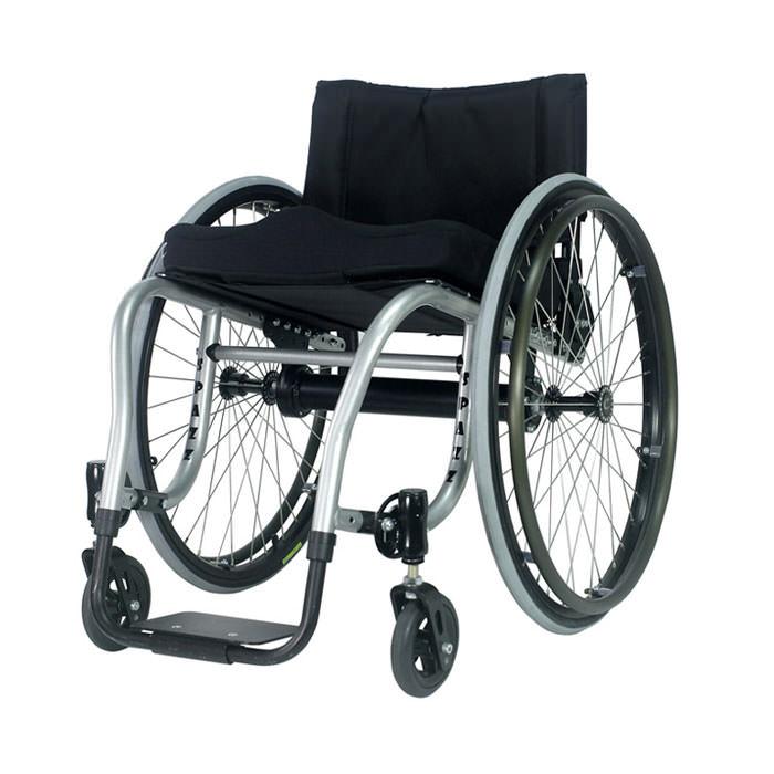 Spazz-G ultralight rigid manual wheelchair