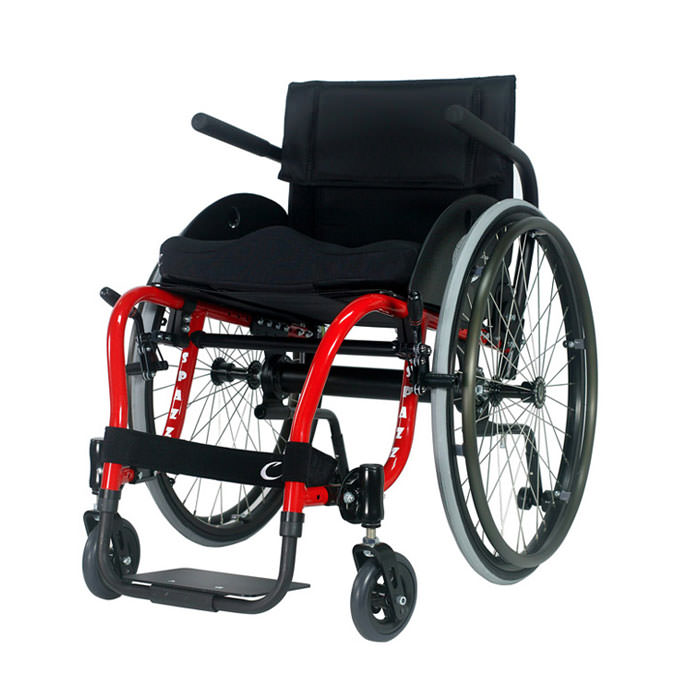 Colours Spazz-G wheelchair