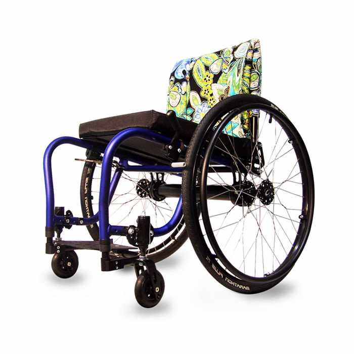 Colours spazz ultralight rigid manual wheelchair