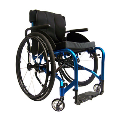 Colours Verve folding manual wheelchair