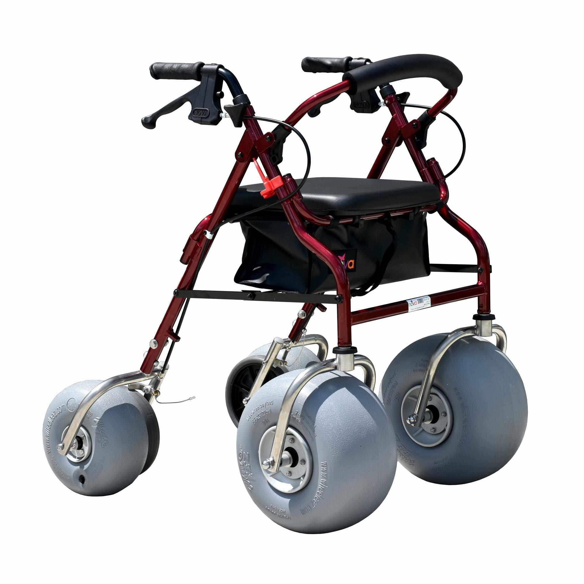 Aluminum all-terrain beach walker