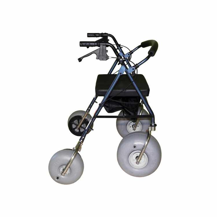 Aluminum all-terrain beach walker