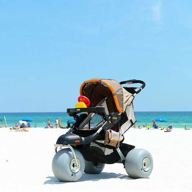 Baby bug aluminum beach jogger stroller