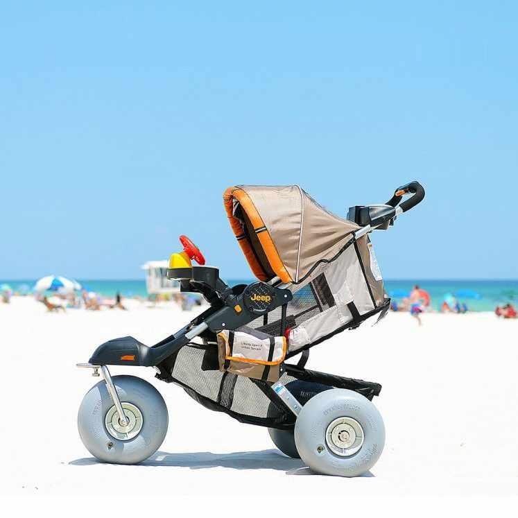 Baby bug aluminum beach jogger stroller - Foldable