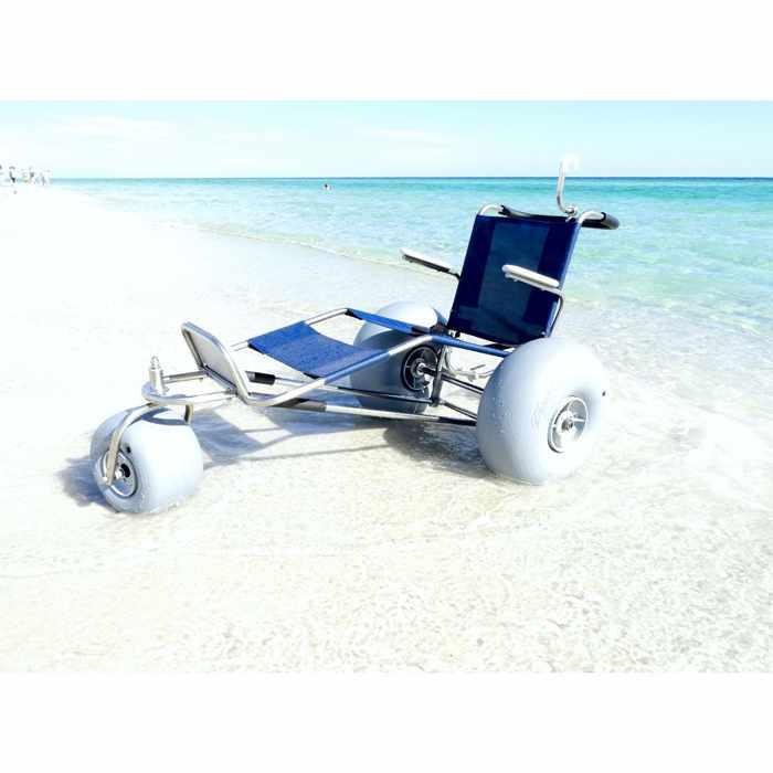 De-bug EZ roller three wheel beach wheelchair