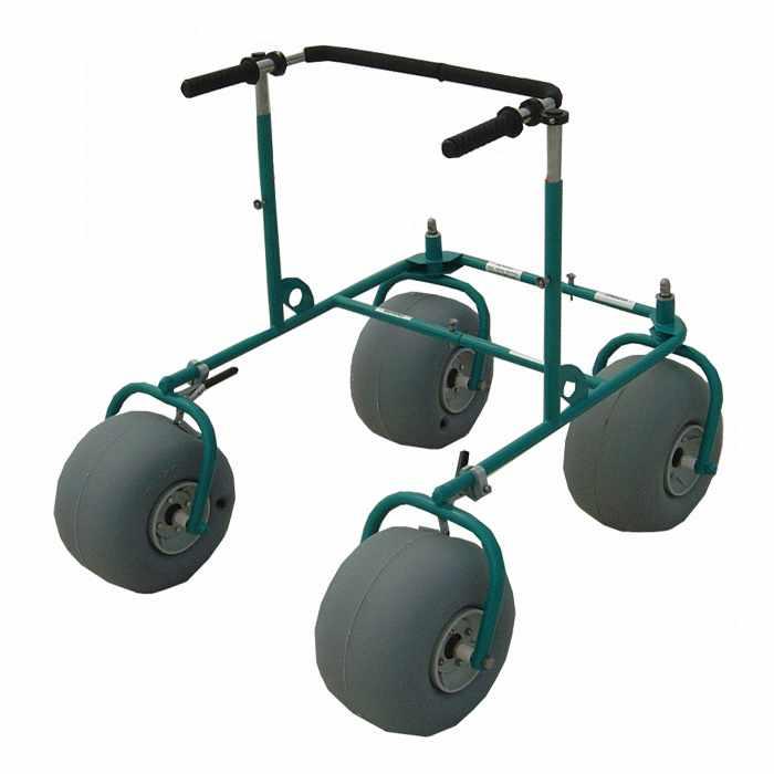 Stainless steel all-terrain beach walker