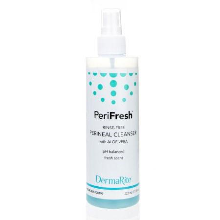 DermaRite Fresh Fruit Scent Rinse-Free Perineal Wash