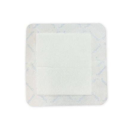 Dermarite Gauze Wound Dressing with Adhesive Border, 6 Inch x 6 Inch
