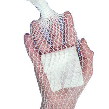 Deroyal stretch net tubular elastic bandage, size 5, 10 yards