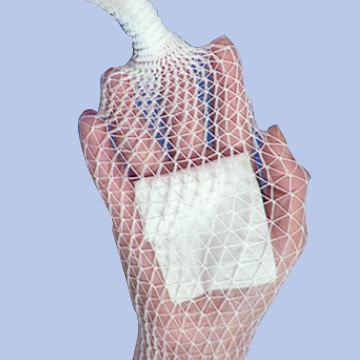 Deroyal stretch net tubular elastic bandage, size 6, 10 yards