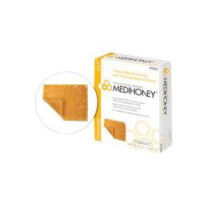 "Derma sciences medihoney calcium alginate dressing 2"" x 2"""