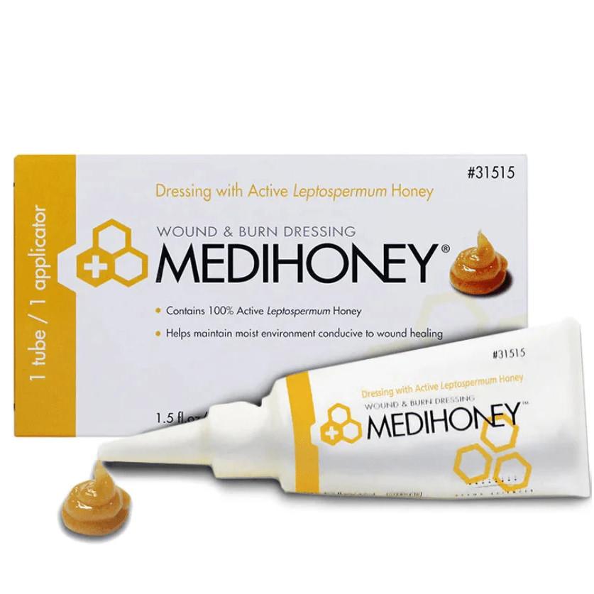 Medihoney Hydrocolloid Wound Filler Paste with Applicator 1-1/2 oz