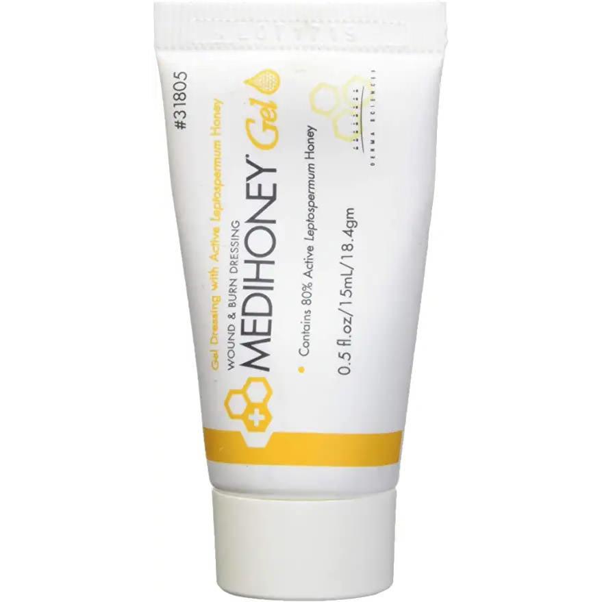 Medihoney Wound and Burn Dressing, 0.5 oz Gel Tube