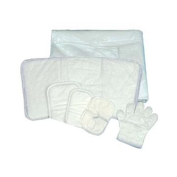 """Deroyal Sofsorb Multi-layered Absorbent Wound Dressing, Sterile, Non-Adherent, 9"""" x 15"""""""