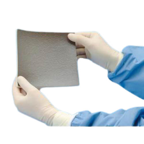 "Deroyal algidex Ag silver alginate wound dressing with foam back 4"" x 4"""