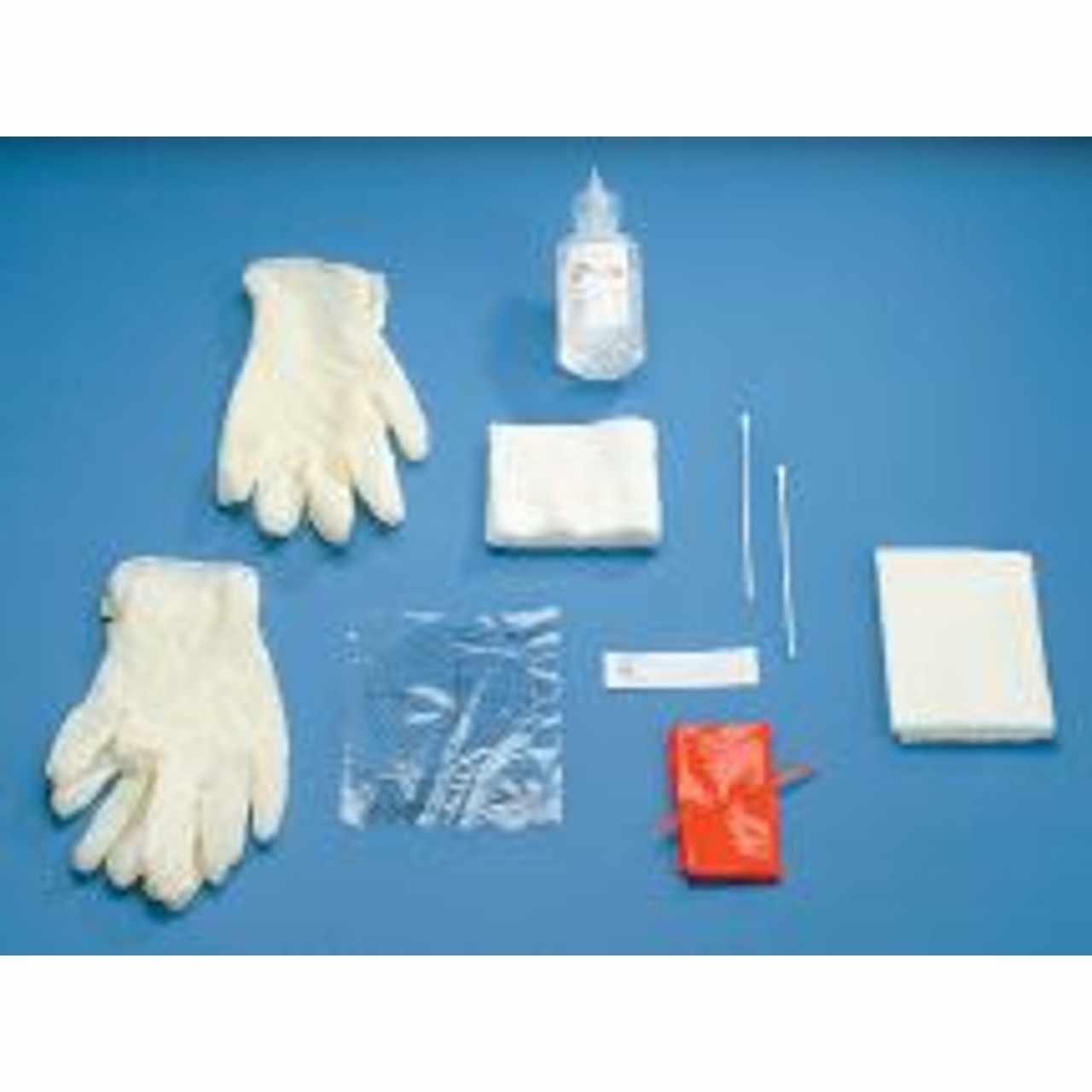 Deroyal Central Line Dressing Kit, Natural Rubber Latex
