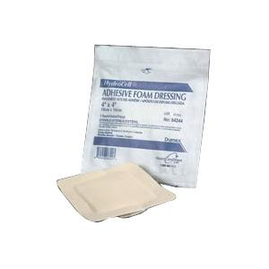 """Derma sciences hydrocell adhesive foam dressing with film backing 6"""" x 6"""""""