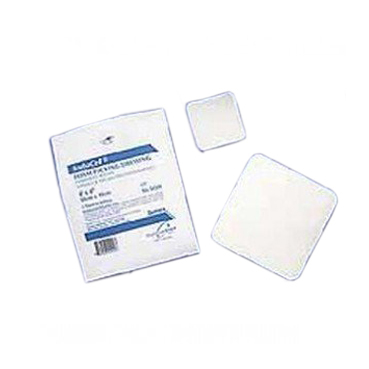 """Derma sciences sorbacell foam dressing without film backing 4"""" x 4"""""""