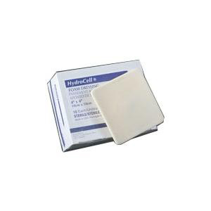 """Derma sciences hydrocell non-adhesive foam dressing with film backing 6"""" x 6"""""""
