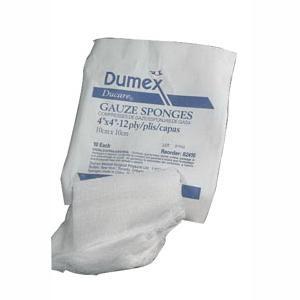 """Ducare Woven Gauze Sponge, 12-Ply, 2"""" x 2"""""""