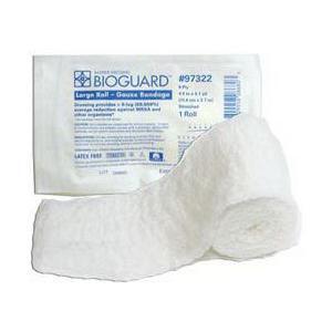 "Derma sciences bioguard island dressing 4"" x 10"", pad size 2"" x 8"""