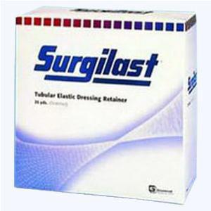 Derma Sciences Surgilast Tubular Bandage, Medium Head, Shoulder, Thigh, Size5-1/2, 25 yards