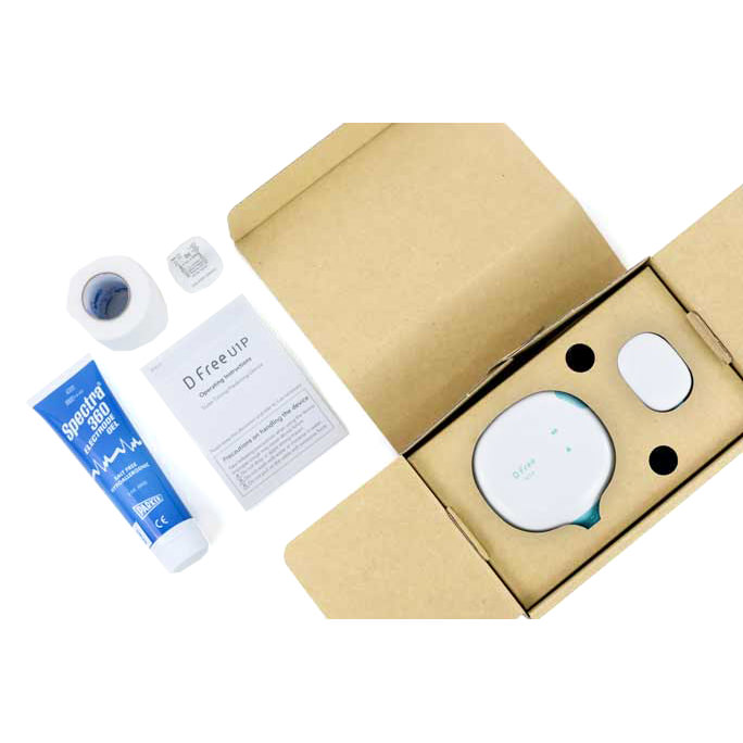 Dfree Bundle Wearable Device for Incontinence