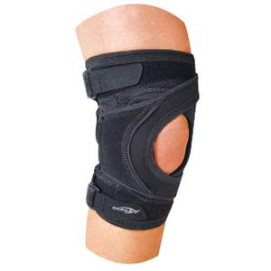 Tru-Pull Lite Strap Closure Knee Brace Large 21 to 23-1/2 Inch Circumference Right Knee