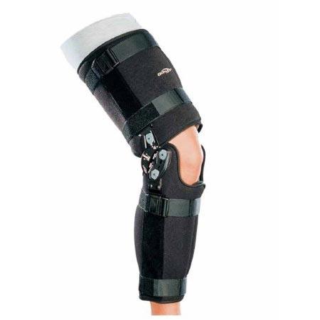 "DonJoy Rehab TROM Knee Brace Medium 18"" to 22"" Circumference 17"" Length"