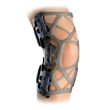 Reaction Silicone Hinged Knee Brace