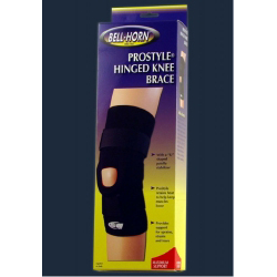 """ProStyle Pull-On Hook Loop Strap Knee Support Medium 14-15"""" Circumference Left or Right Knee- Each"""