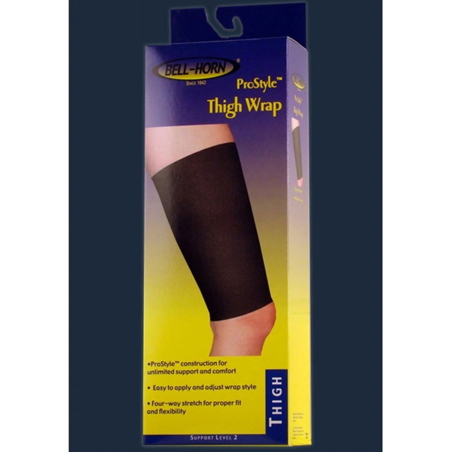 Prostyle Neoprene Wrap Thigh Support, Black