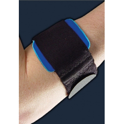 """DJ PneuGel Universal Tennis Elbow Strap W/Air/Gel Pack Forearm Circumference 9 """" to 20"""""""