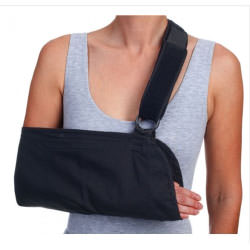 """Procare Hook and Loop Closure Universal Arm Sling with Padded Strap 7"""" x 18"""""""