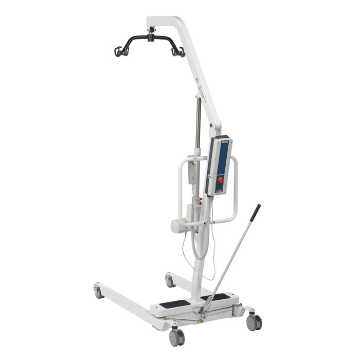 Drive Medical Battery Powered Patient Lift With Six Point Cradle   Drive Medical Patient Lift