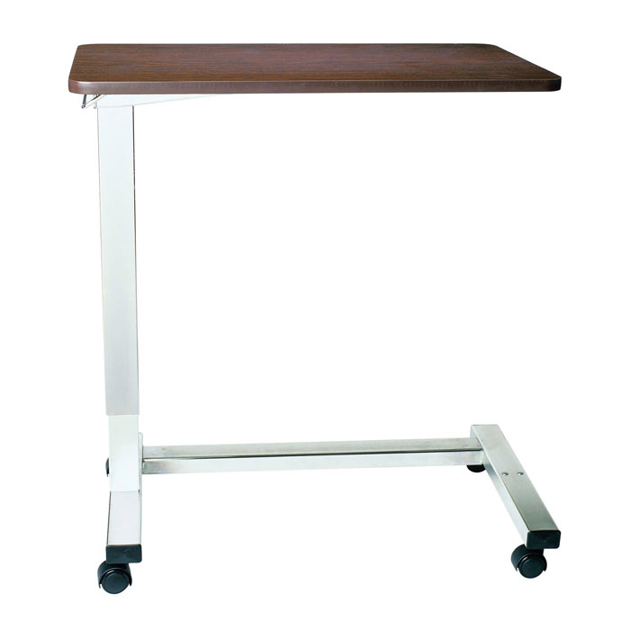 Drive Medical Non-Tilt Automatic Overbed Table With U Base Frame