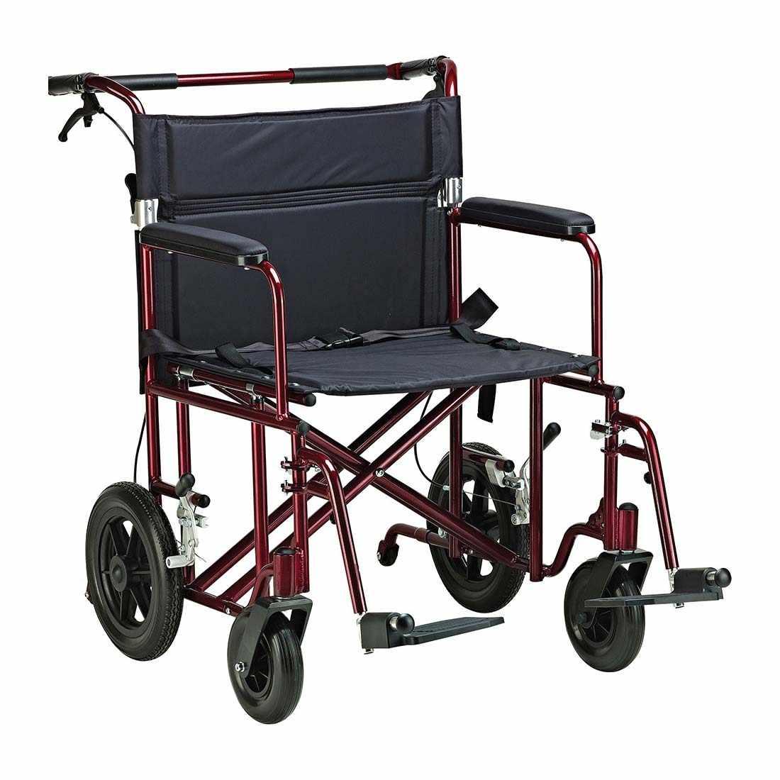 Drive Medical bariatric aluminum transport wheelchair