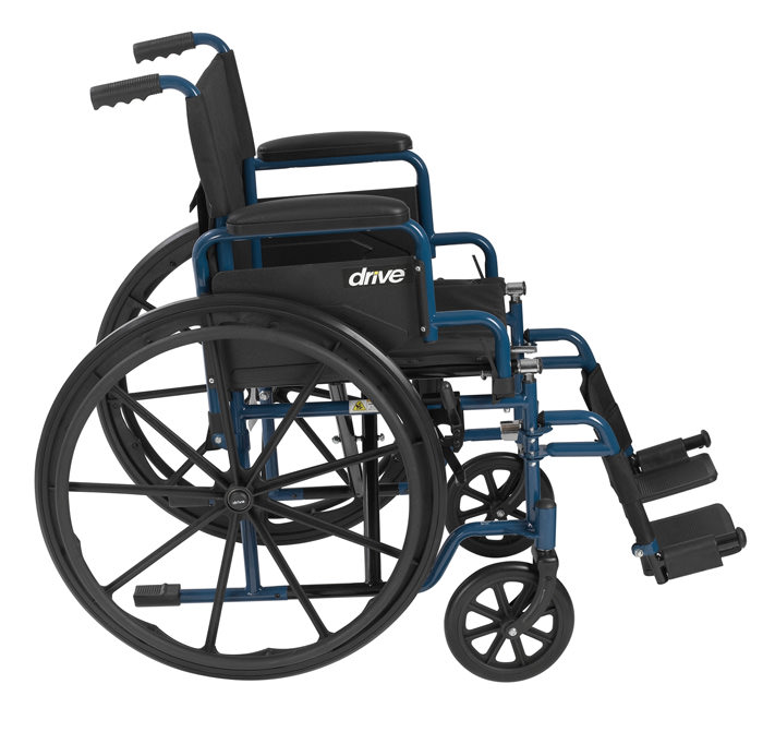 Drive Medical Blue Streak Manual Wheelchair Drive