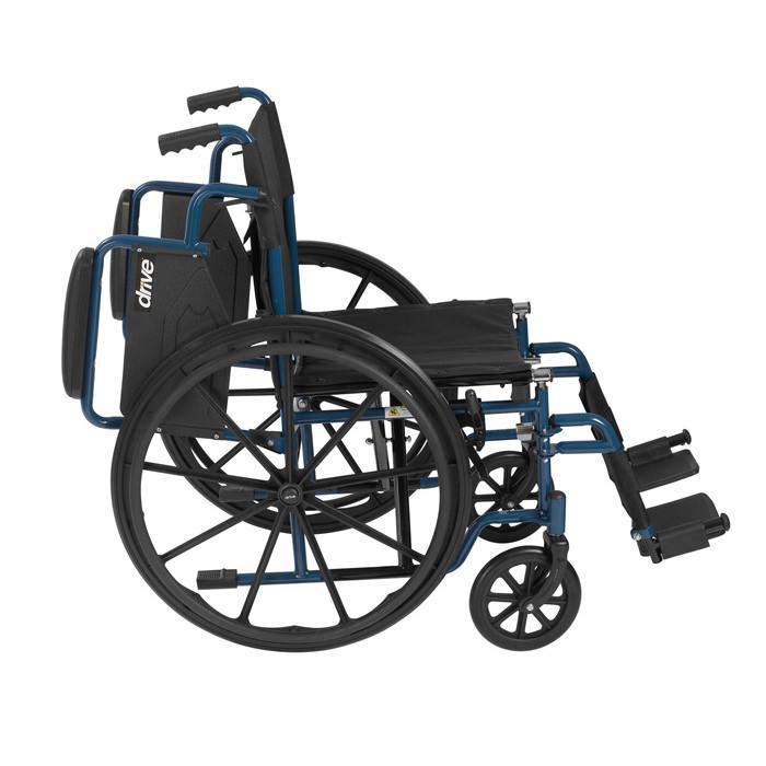 Drive Medical Blue Streak wheelchair