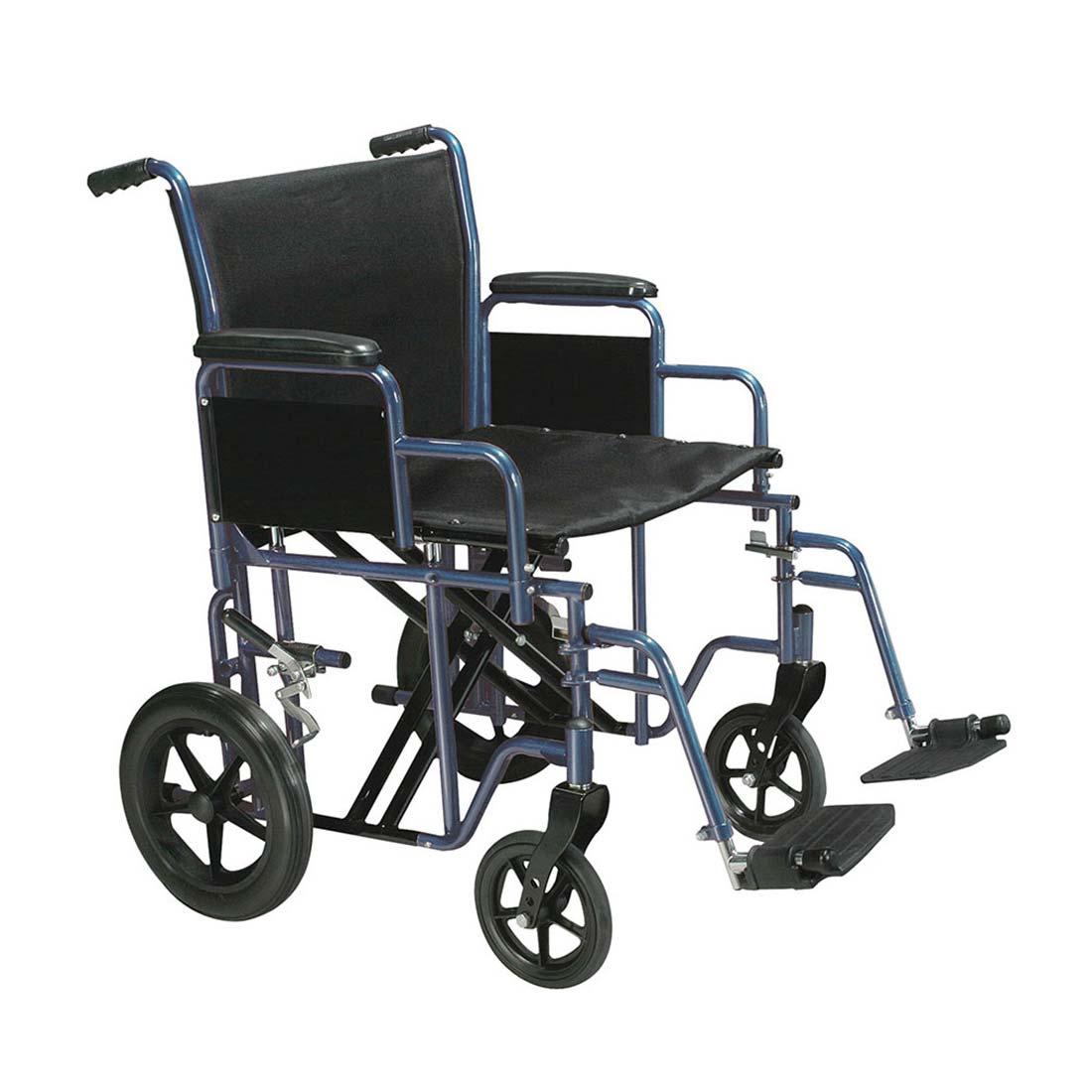 Drive Medical bariatric steel transport wheelchair