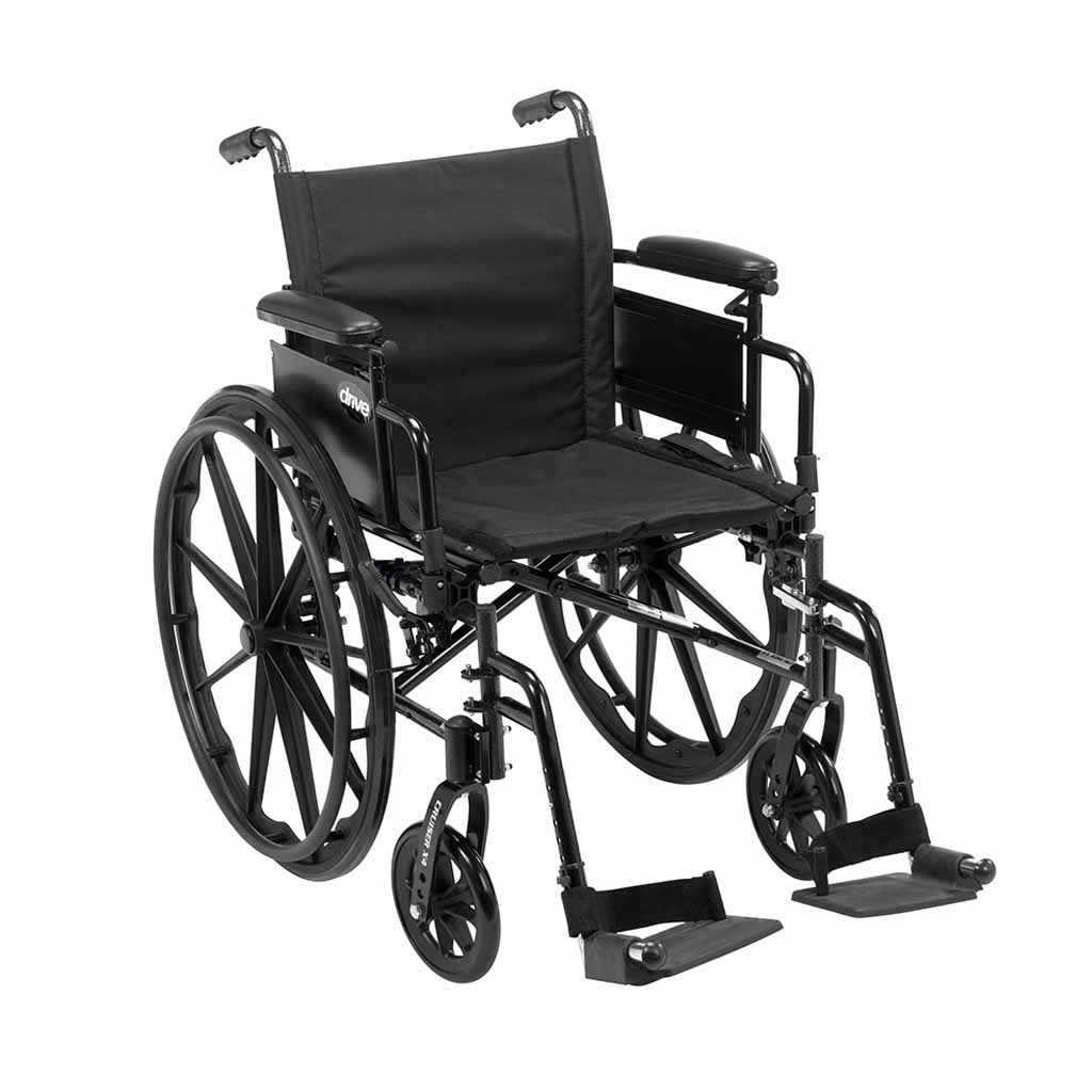 Drive Medical Cruiser X4 lightweight aluminum wheelchair