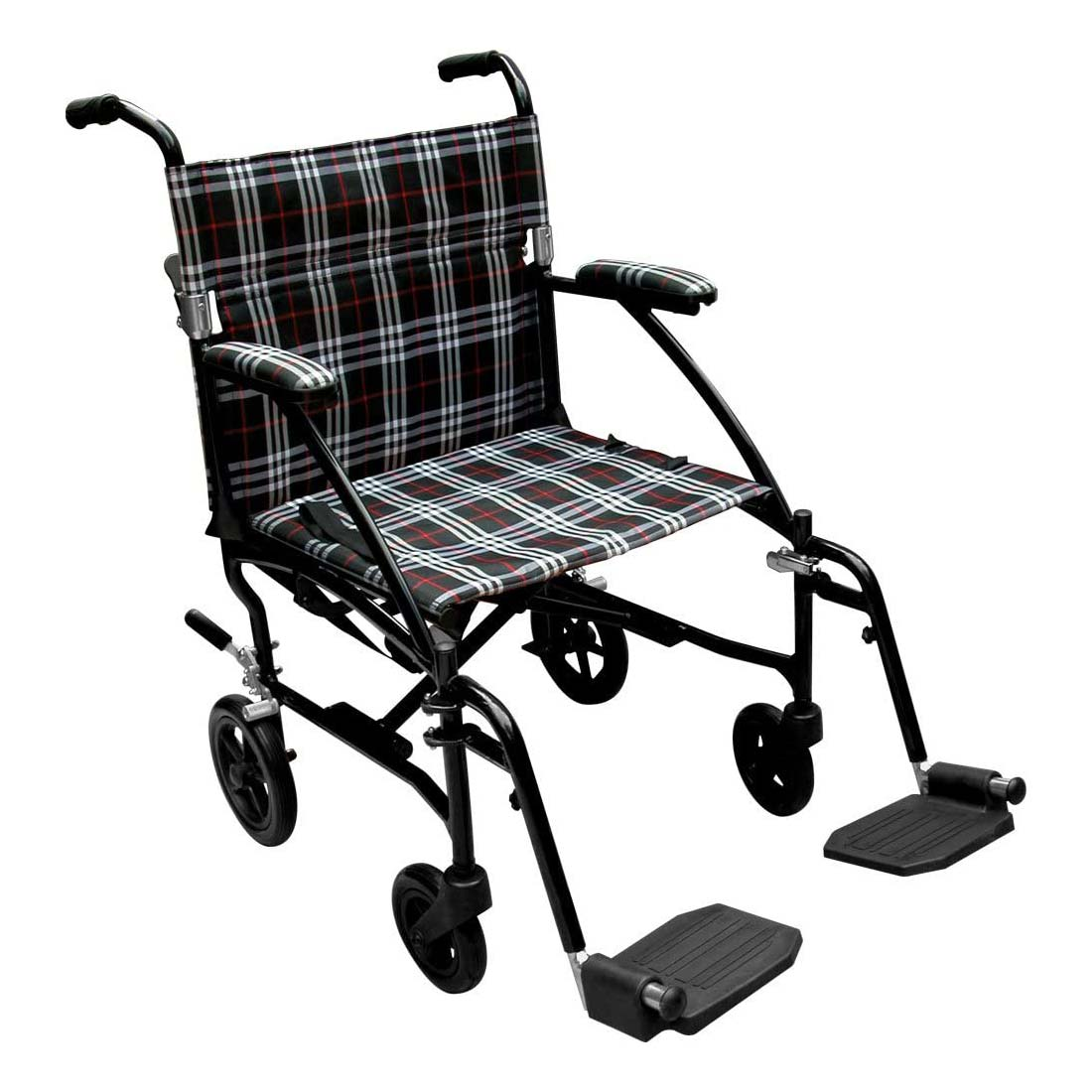 Drive Medical Fly-Lite aluminum transport wheelchair