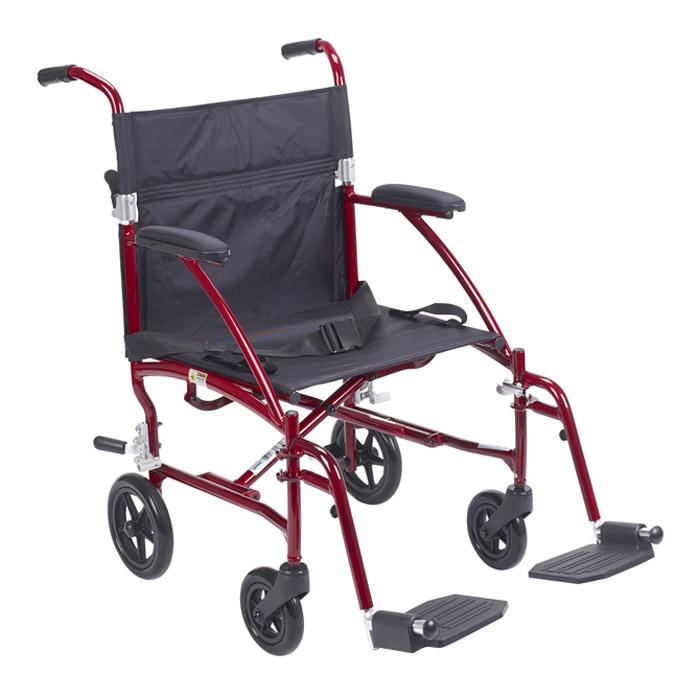 Drive Medical aluminum transport wheelchair