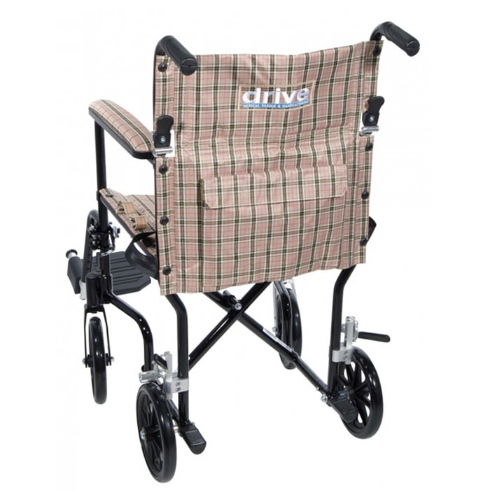 Drive Medical Deluxe fly-weight wheelchair