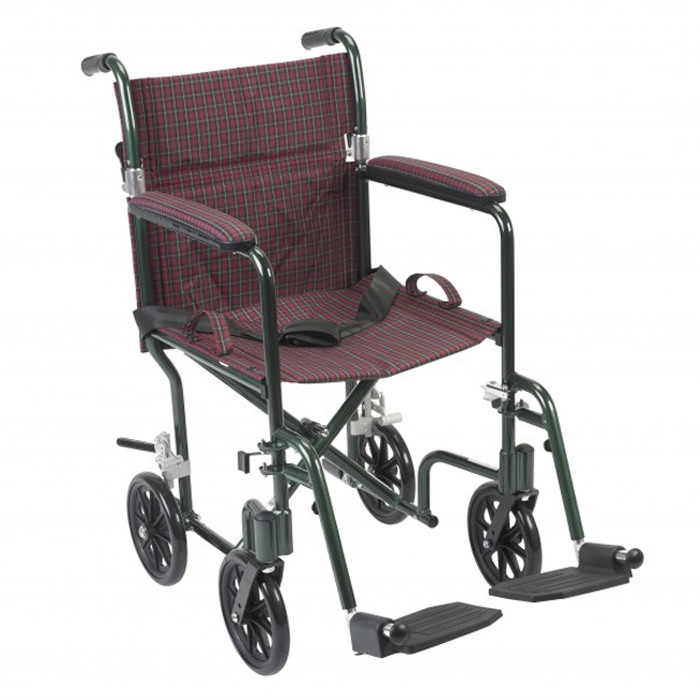 Drive Deluxe fly-weight wheelchair