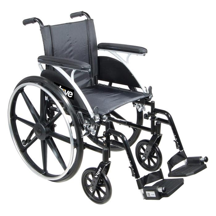 Drive Medical viper lightweight dual axle wheelchair
