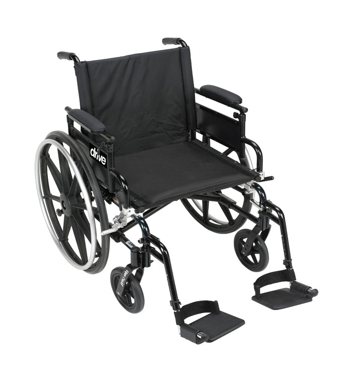 Drive Medical viper plus GT aluminum lightweight dual axle wheelchair